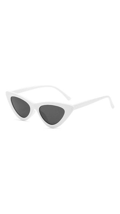 Óculos gatinho -  Branco - Bissau