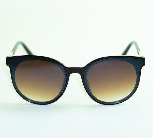 Óculos de Sol - Coleção Berlim (Marrom e Dourado)