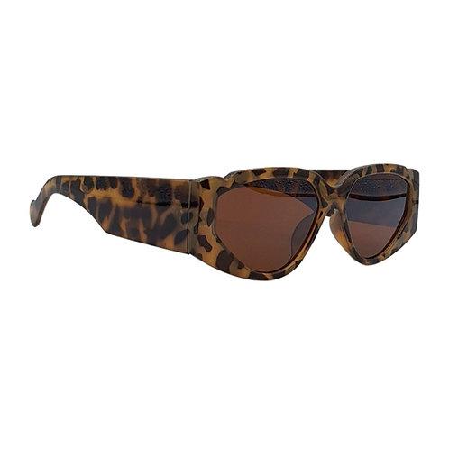 Óculos de Sol - Quadrado Oncinha - Coleção Flórida