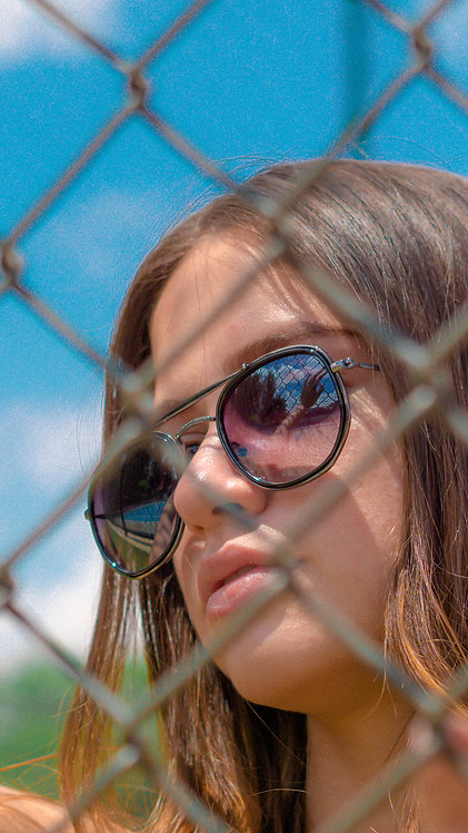 Óculos de Sol - Coleção Palermo - Preto com Grafite