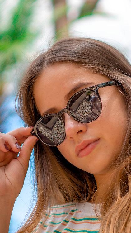 Óculos de Sol Preto Fosco - Coleção Tókio