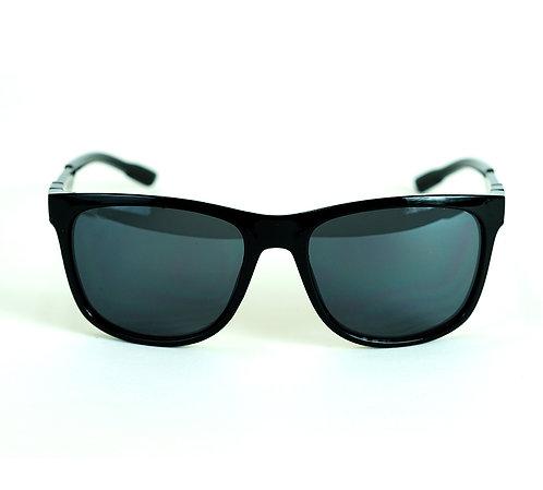 Óculos de Sol Esportivo - Coleção Viena - Preto Brilhante
