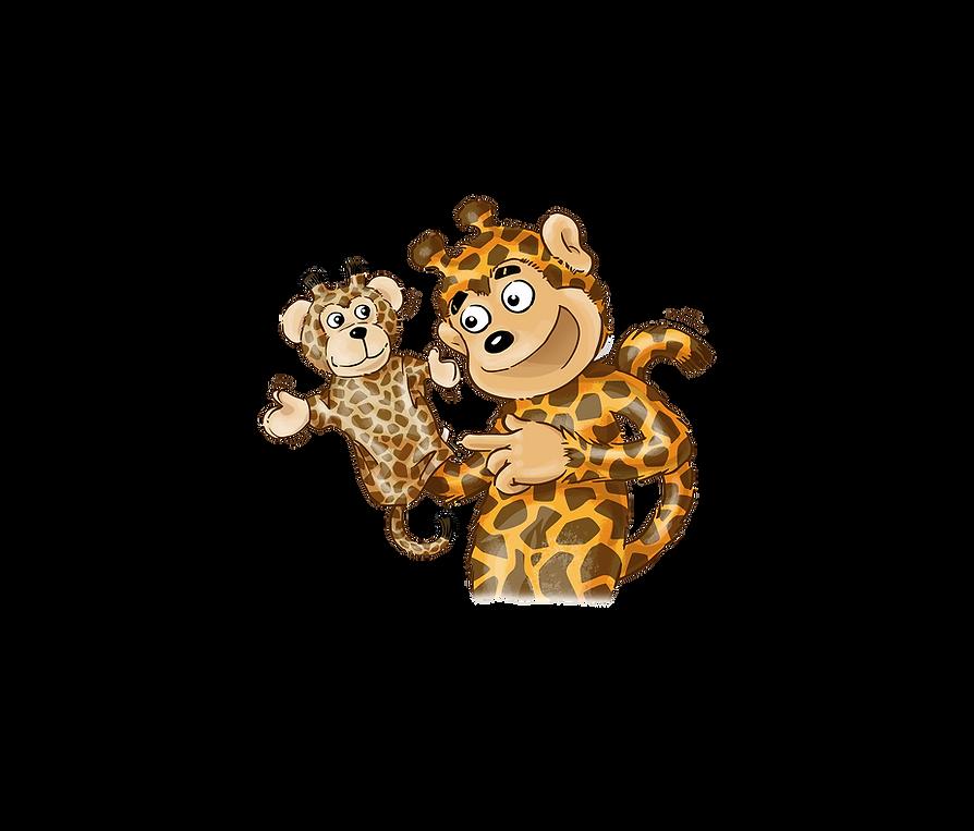 Giraffenaffe und Handpuppe.png