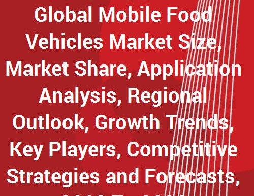 Global Mobile Food Vehicles (Trucks, Carts, Trailers & Bustaurants) Markets to 2026