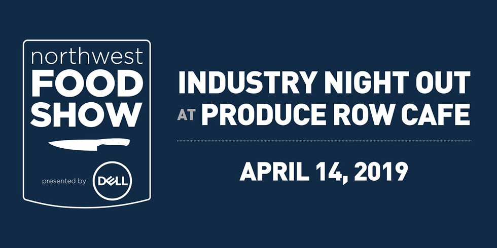 NW Food Show Industry Night Out