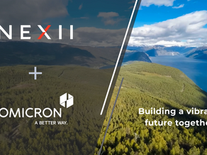 Nexii has acquired Omicron as a wholly owned subsidiary