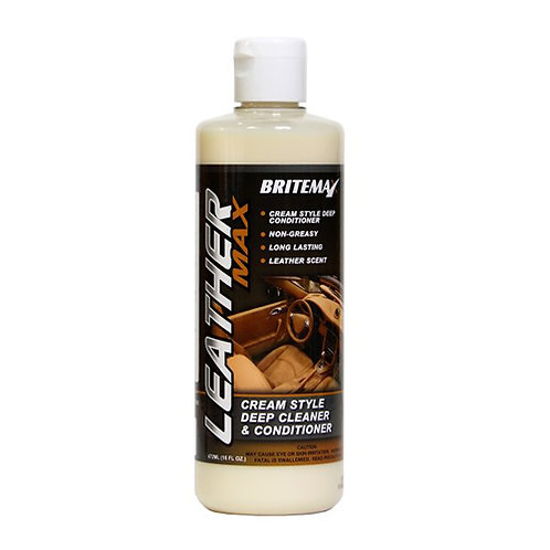 Britemax Leather Max Cleaner and Conditioner 473ml