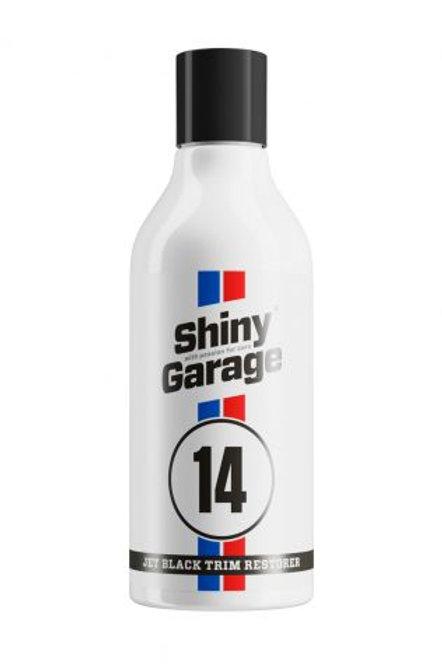 Shiny Garage Jet Black Trim Restorer 500ml