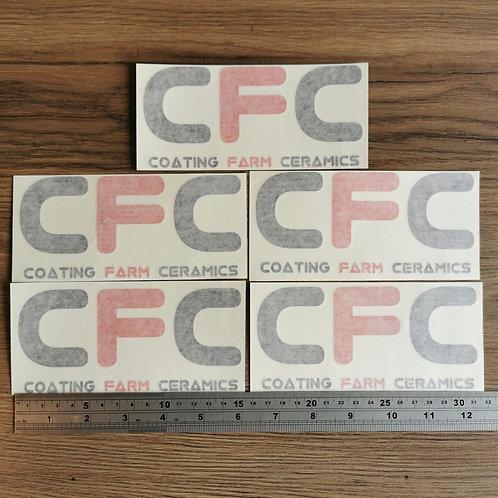 Coating Farm Ceramics Decals X 5