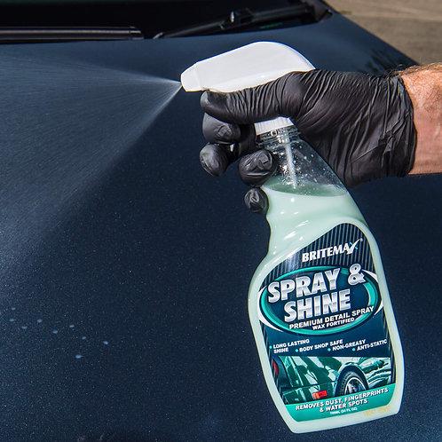 Britemax Spray And Shine Premium QD Detail Spray 709ml