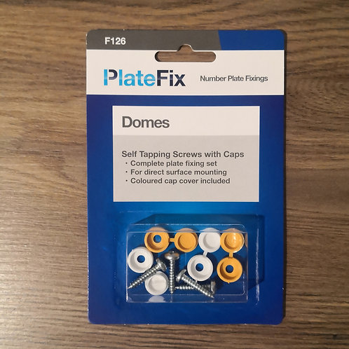 PlateFix Self Tapping Screws With Caps