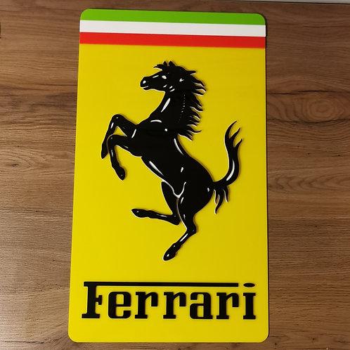 Ferrari Acrylic Wall Art
