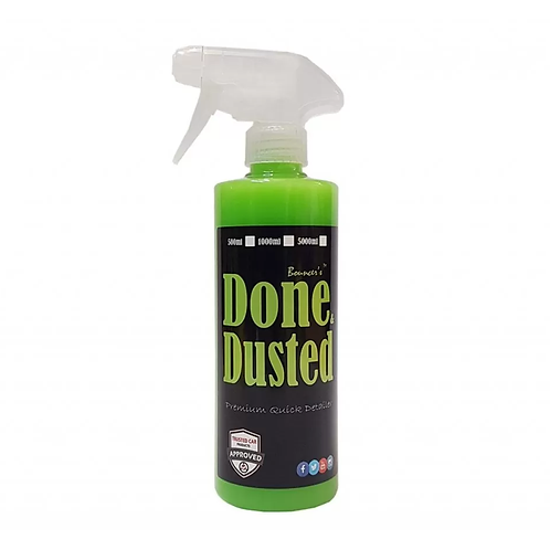 Bouncer's Done And Dusted Premium Quick Detailer 500ml