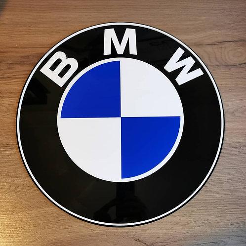 BMW Acrylic Cut Wall Art Sign