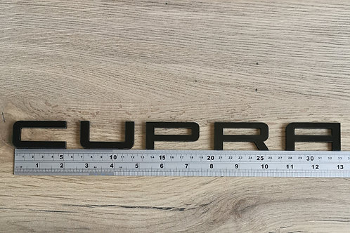 Seat CUPRA Style Acrylic Cut Boot Badge Letters