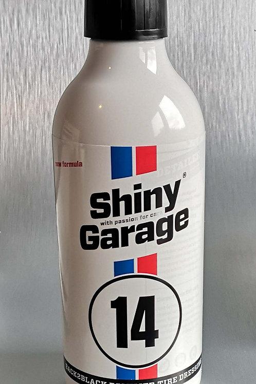 Shiny Garage Back2Black Polymer Tyre Dressing 500ml