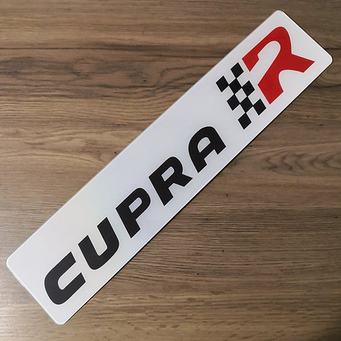 Seat Leon Cupra R Show Plate