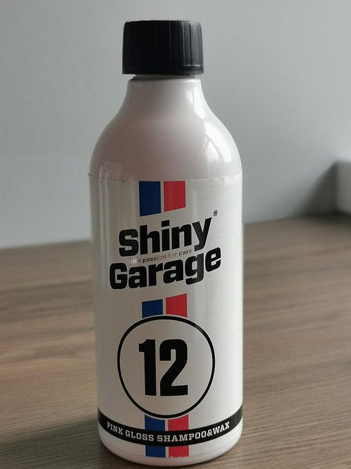 Shiny Garage Pink Gloss Shampoo And Wax 500ml