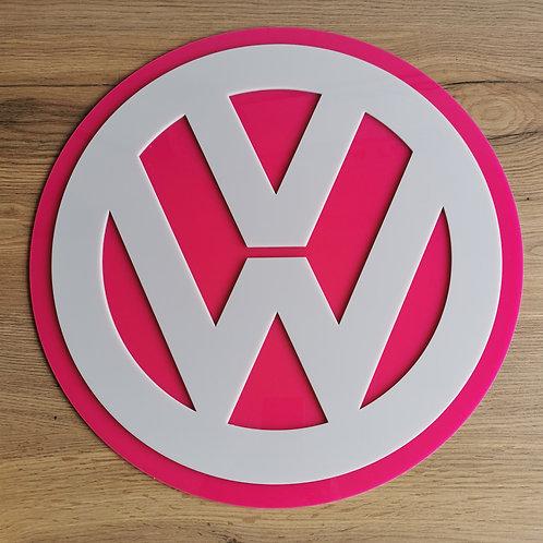 VW Acrylic Wall Art Sign