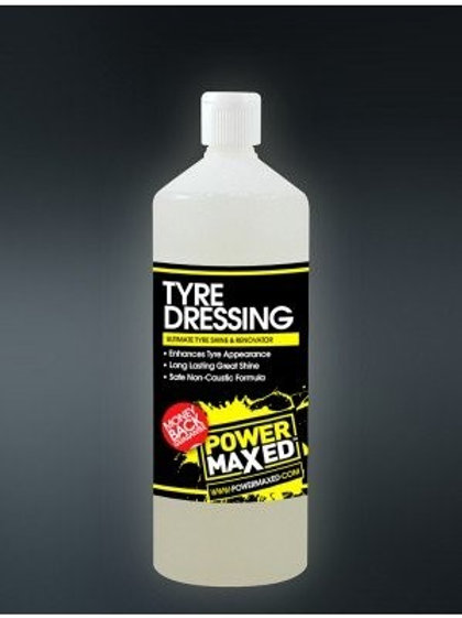 Power Maxed Tyre Dressing 1 Litre