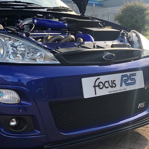 Pair of Focus RS Mark 1 Build Number Show Plates