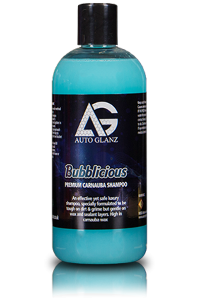 AutoGlanz Bubblicious Car Shampoo With Wax 500ml