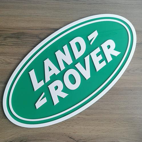 Land Rover Acrylic Cut Wall Art Sign