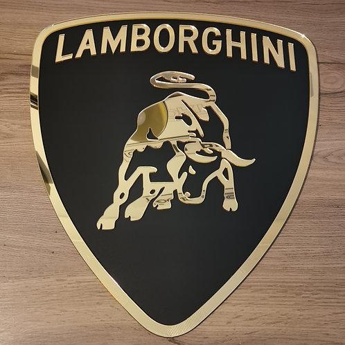 Lamborghini Acrylic Cut Wall Art