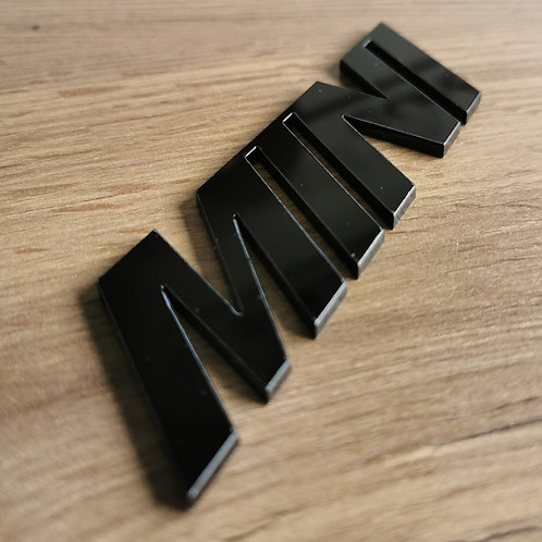 Mini Acrylic Cut Boot Badge