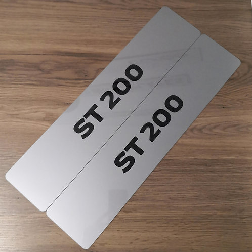 Ford Fiesta / Mondeo ST200 Dealership Style Show Plates