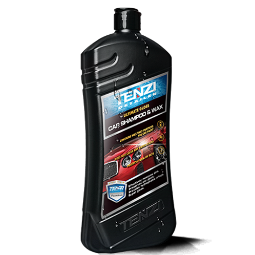 Tenzi Car Shampoo And Wax 770ml
