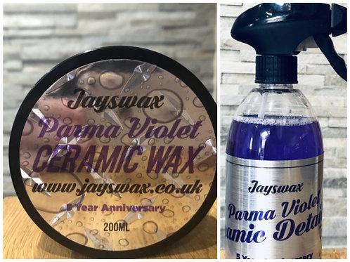 200ml Parma Violet Ceramic Wax & Parma Violet QD Bundle