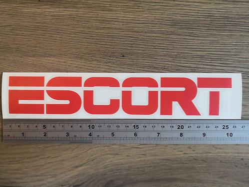 Escort Decal / Sticker