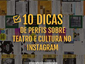 10 DICAS DE PERFIS NO INSTAGRAM PRA VOCÊ FICAR LIGADX!
