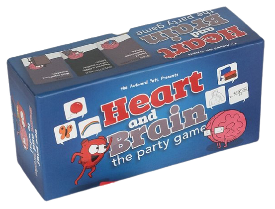 Heart and Brain Party Game