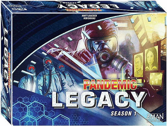 Pandemic Legacy - Blue Edition