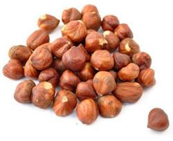 Hazelnuts natural