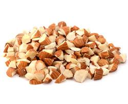 Almonds diced