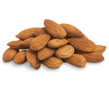Almonds natural raw