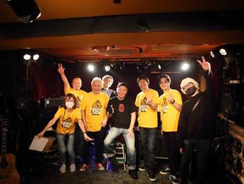 泉谷しげるさん、ウルフルケイスケさん等との配信ライブが無事終了!