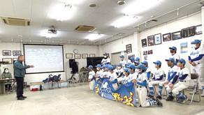 少年野球エンジェルスの卒団式
