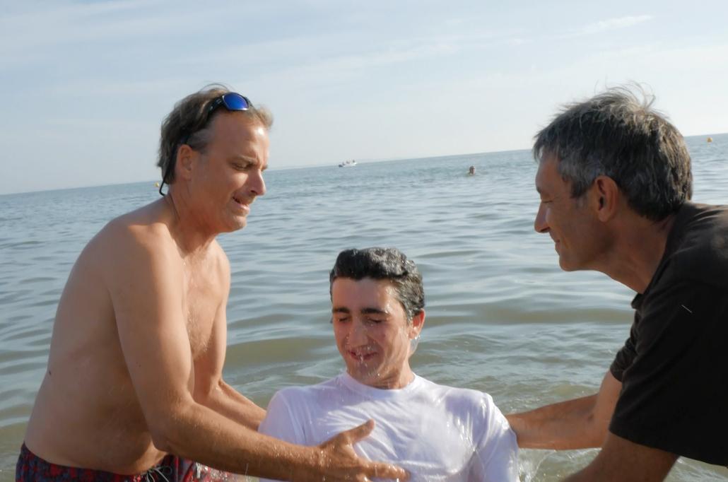 Baptême de Nathan