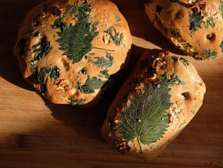Simple Nettle Bread Recipe