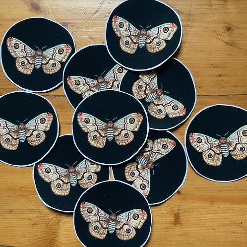 Emperor Moth Sticker