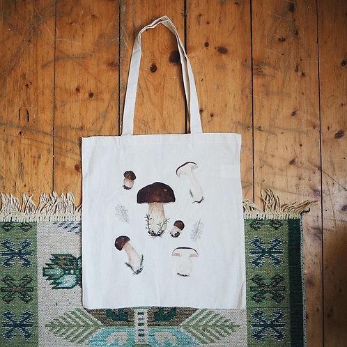 Mushroom Tote Bag