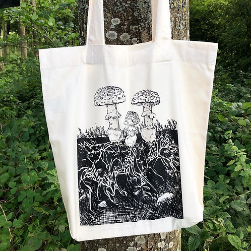 Fungi Fly Agaric Tote Bag