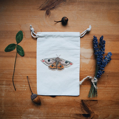 Little Emperor Moth Bag