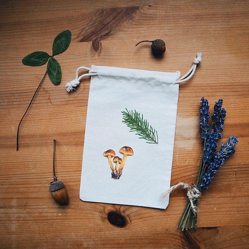 Small Pine Mushroom Bag