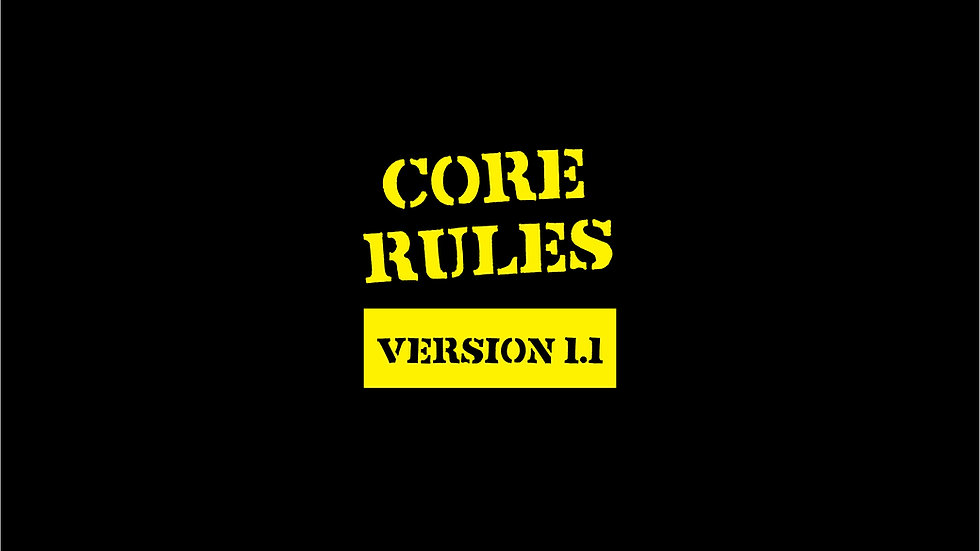 Diesel Overlord Core Rules 1.1