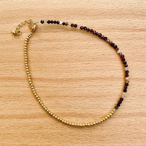 Armband Gold/Braun